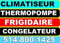 ❄️ CLIMATISEUR THERMOPOMPE | AIR CONDITIONER AC | HEAT PUMP|
