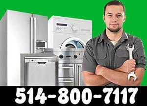 Réparation électroménager! Rapide! Appliances repair ! Fast