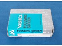 Yashica Focusing screen FA-5 for 200, 230, 270-AF. As new, NOS