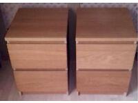 IKEA bedside drawers