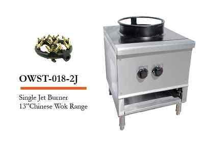 Lj Owst-018-2j Single Jet Burner 13 Chinese Wok Range Natural Gas