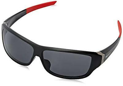 Tag Heuer Racer 9225 101 Matt Black Red SUNGLASSES Watersports Outdoor Grey Lens