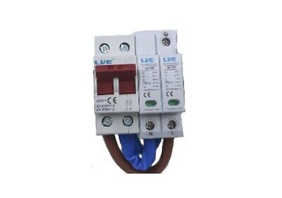 - LIVE SAMODKIT Surge Protection Device Kit, Conforms to 18th Edition Regs