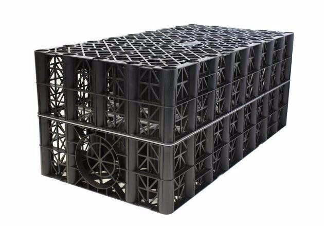 2x polystorm soakaway crates
