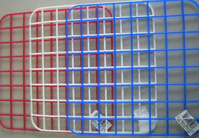 5 Stück Spüleinlage Spülmatte Spülmatten Spülbecken Einlage Gitter versch. Farbe