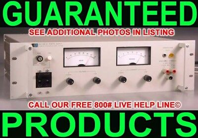 Hp Agilent 6274b 0-60v 0-15a Metered Variable Regulated Linear Dc Power Supply