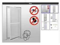 Fly & Insect door screen