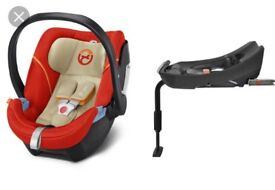Aton 5 cyber car seat with isofix base