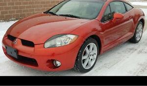 06 MITSUBISHI ECLIPSE bumper $120 and complete car!