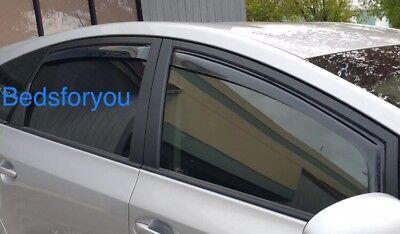 Toyota Prius Plus 7 Seater 2013-2016 window visor Deflector Sun Rain IN CHANNEL
