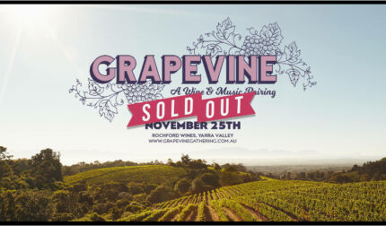 GRAPEVINE GATHERING 2x TICKETS + bus passes