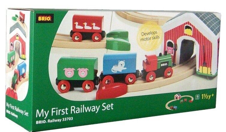 Train sets Wooden (x2) + Brio (toys)