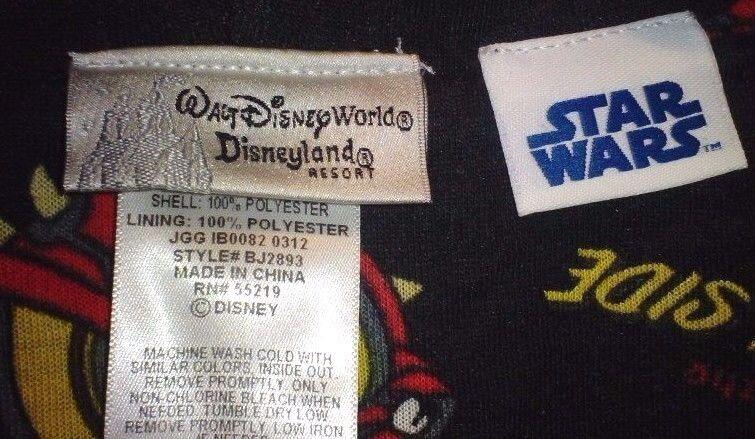 Disney Star Wars Robe Donald Duck Darth Maul New Youth Small