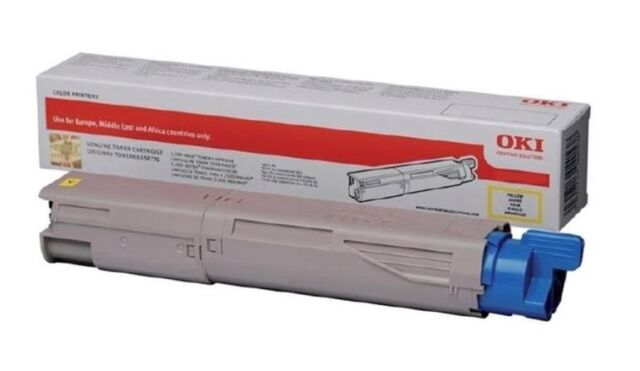 OKI Toner Cartridge Yellow (Yield 10,000 Pages) for MC873 A3 Colour