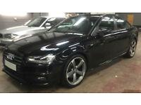 Black AUDI A4 SPORTBACK 1.8 2.0 TDI Diesel BLACK EDITION FROM £51 PER WEEK!