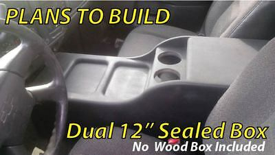Center Console Speaker Box 12