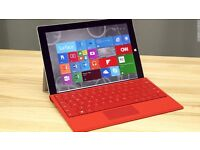 Microsoft Surface 3 128GB with Keyboard (Red)