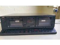 JVC Twin Cassette Deck