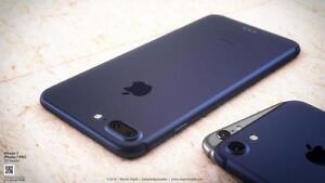 Unlocked Matt Black Iphone 7 Plus 32 GB -Receipt