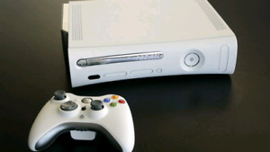 Xbox 360 Console and 2 Controllers