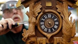 CUCKOO MANTLE GRANDFATHER & GENERAL CLOCK REPAIR BEST PRICES $$