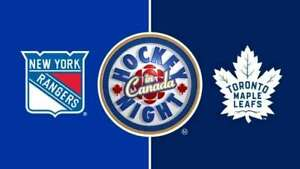 Leafs vs Rangers - Scotiabank Arena - Saturday, March 23, 2019