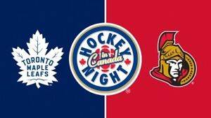 Leafs v Senators October 6th