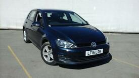 2015 15 VOLKSWAGEN GOLF 1.6 MATCH TDI BLUEMOTION TECHNOLOGY DSG 5DR AUTOMATIC 10