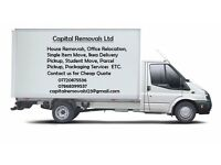 24/7 Man and van hire house office flat or home move and rubbish removals and storage facilities