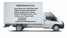 Man and van hire,house,office home move relocations Rubbish removals collection delivery services