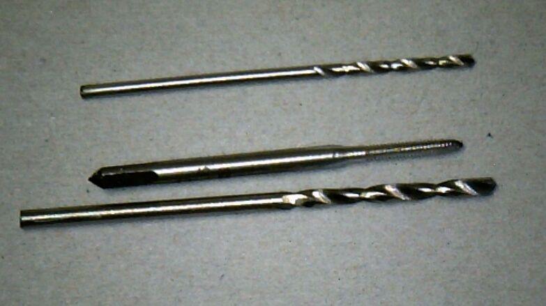 USA Shipping - M1.6 Tap & 1.3mm 1.8mm Drill Set