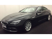 Black BMW 640i se Petrol Auto 320bhp Coupe 2015 FROM £160 PER WEEK!