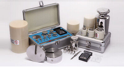 Precision Stainless Steel Balance Scale Calibration Weight Kit Set With Tweezers