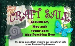 FREE ADMISSION - CRAFT SALE