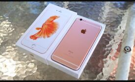 CHEAP IPHONE 6s 64gb Rose gold unlocked EXCELLENT CONDITION BOXED