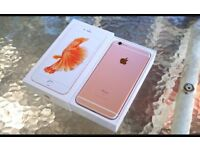 IPhone 6s 32gb Rose gold unlocked 7 months apple warranty excellent condition