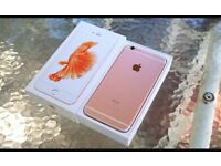 iPhone 6s 16gb and 64gb unlocked Rose gold. Very good condition
