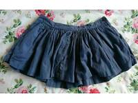 Jack Wills Skirt with pockets, Size 8.