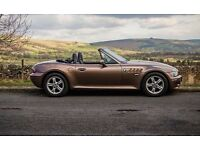 BMW Z3 in Impala Brown