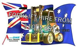 FORKLIFT HIRE - CALL US NOW Minchinbury Blacktown Area Preview