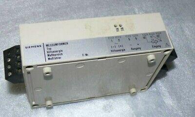 Siemens Transmitter 7NG2201-3CB41/24V Dc