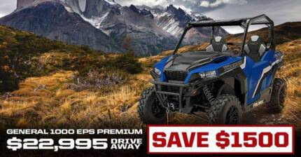 Polaris GENERAL™ 1000 EPS PREMIUM Fulham West Torrens Area Preview