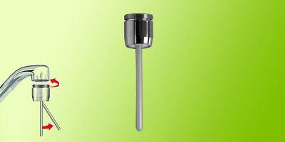 Aeratore sensore meccanico Risparmiotto®,risparmio acqua 85%;bagno;rubinetto