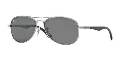 New Authentic Ray-Ban Jnr RJ9529S 200/87 Grey Kids Childrens Aviator Sunglasses