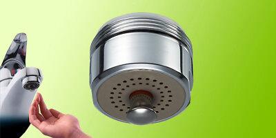 Aeratore On-Off: Risparmiotto®, risparmio acqua 84% riduce i consumi; rompigetto