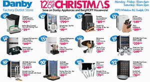 12 Days of Christmas Sale at Danby Outlet Store
