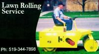 Spring Has Sprung Time to book your Lawn Rolling Service