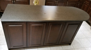 Laminate island counter top