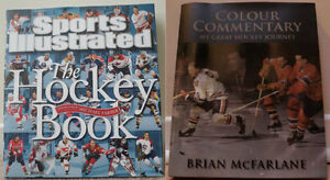 """Sports Illustrated:  The Hockey Book"" & ""Colour Commentary..."""