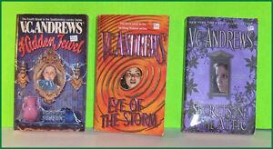 Lot of 3 V.C. Andrews  Pocket Books